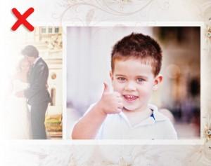 Bildzuschneiden Hochzeit false
