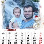 фотокалендарь персональный семейный идея подарка на новый год