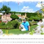 Kalender-2015 mit Foto basteln idee finden geschenk