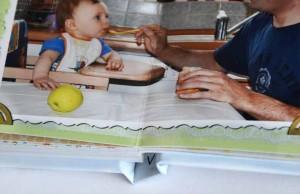 фотокнига детская малыша реенка мой певый год фотобумага слимбук