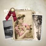 ретро фотокнига поврежденные фотографии восстановить