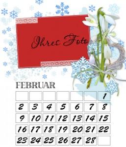 februar beispiel fotokalender 2015