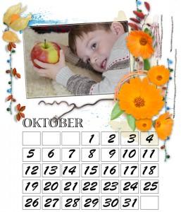 fotokalender mit bilder beispiel gestaltung