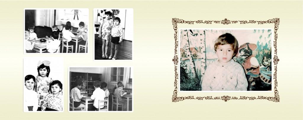 gestaltung fotobuch retro familie geschichte