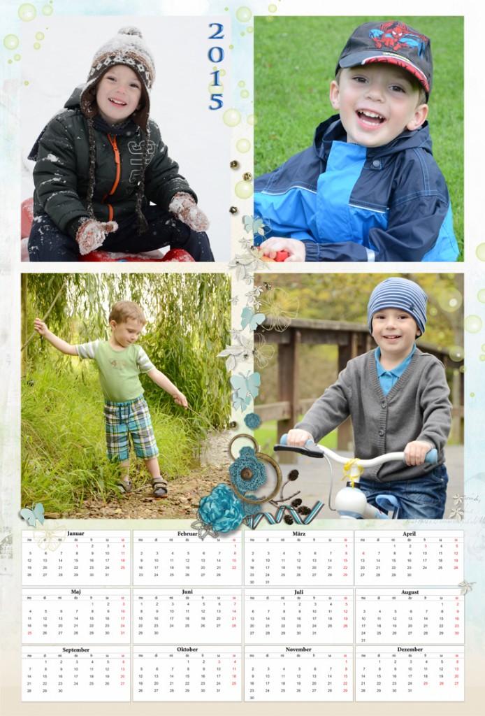 fotokalender 2015 beispiel der gestaltung