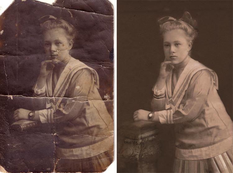 Bildbearbeitung vorher und nachher web