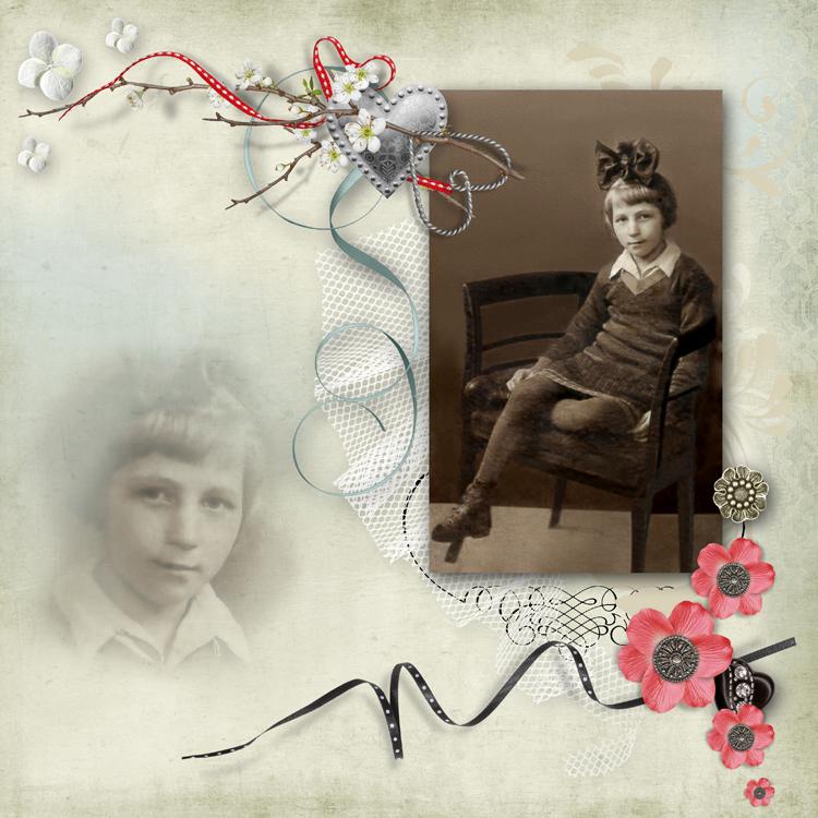 фотокнига со старыми фотографиями